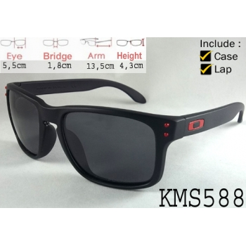 oakley holbrook black red