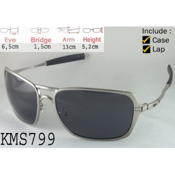 OAKLEY NEW INMATE SILVER CHROME - KODE: KMS799