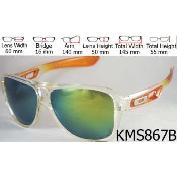 OAKLEY DISPATCH 2 ORANGE GREEN LENS: CODE: KMS867B