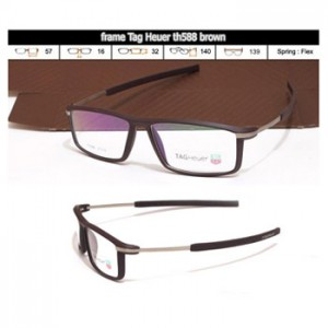 KACAMATA FRAME BACA TAG HEUER TH588 BROWN