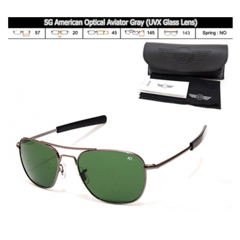 KACAMATA SPORT SG American Optical Aviator Gray