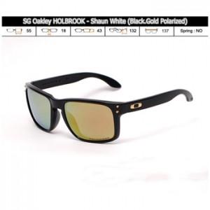 OAKLEY HOLBROOK SHAUN WHITE BLACK GOLD