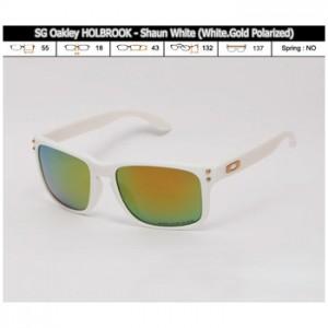 OAKLEY HOLBROOK SHAUN WHITE - WHITE GOLD