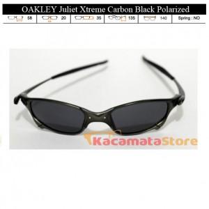 KACAMATA OAKLEY Juliet Xtreme Carbon Black Polarized