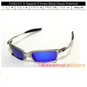 KACAMATA OAKLEY X Squared XTreme Silver Ice Polarized