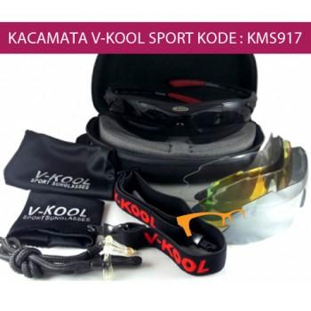 V-KOOL SPORT SUNGLASSES 5 LENSA - KODE : KMS917