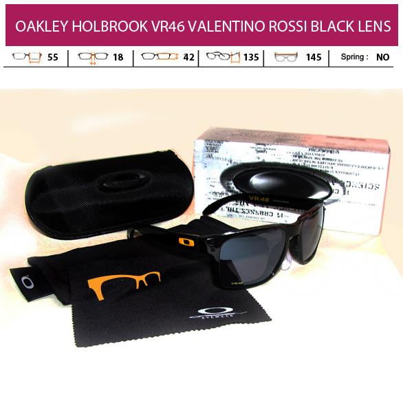 KACAMATA OAKLEY HOLBROOk VR46 VALENTINO ROSSI BLACK LENS