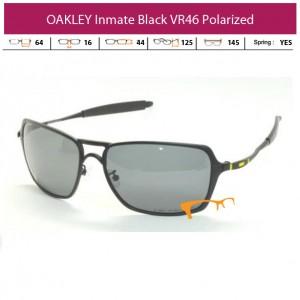 KACAMATA OAKLEY INMATE BLACK VR46