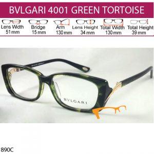 BVLGARI SYAHRINI GREEN TORTOISE