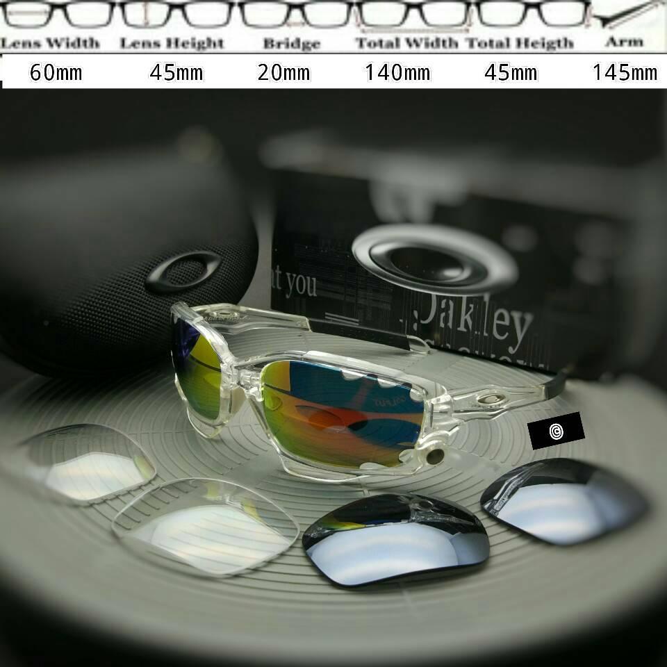 Oakley Jawbone Transparent 3 Lens
