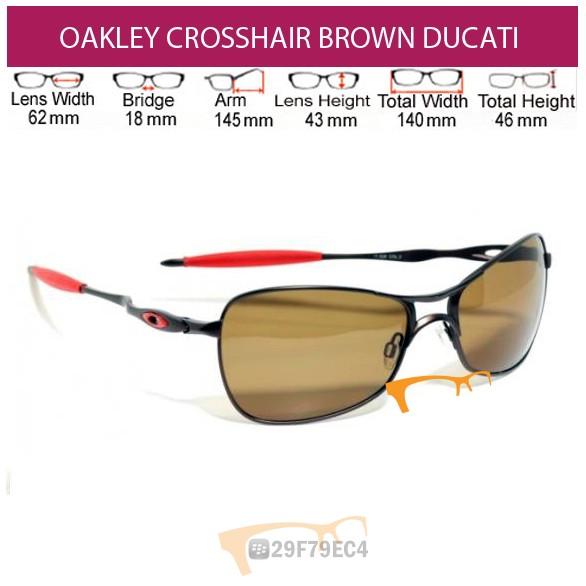 OAKLEY Crosshair Brown Ducati Polarized