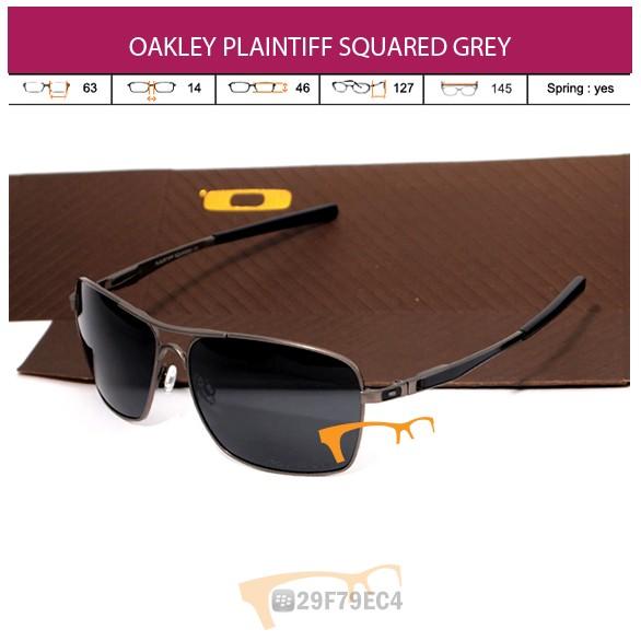 OAKLEY PLAINTIFF SQUARED GREY