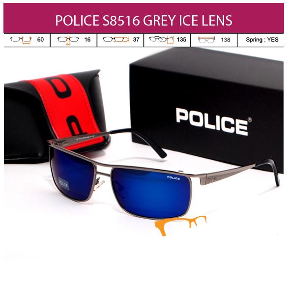 POLICE S8516 GREY ICE LENS