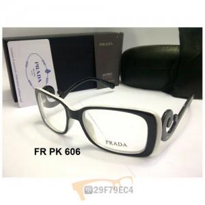 PRADA KEONG VPR09P SQUARED BLACK WHITE PREMIUM