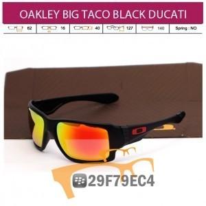 OAKLEY BIG TACO BLACK DUCATI
