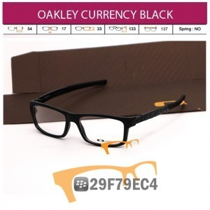 OAKLEY CURRENCY BLACK