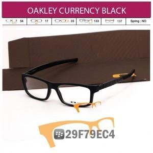 OAKLEY CURRENCY BLACK