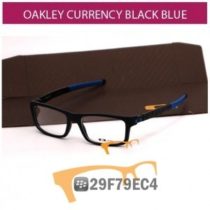 OAKLEY CURRENCY BLACK BLUE