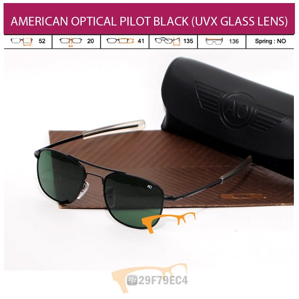 AMERICAN OPTICAL PILOT BLACK