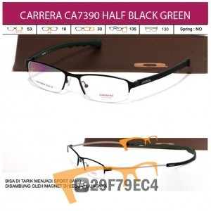 CARRERA MAGNETTO CA7390 HALF BLACK GREEN