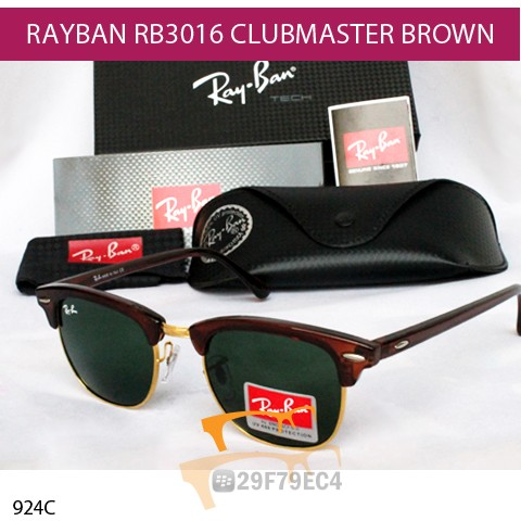 RAYBAN CLUBMASTER BROWN