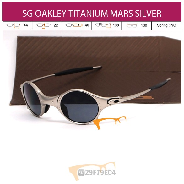 OAKLEY TITANIUM MARS SILVER