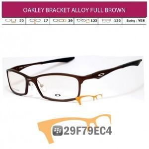 OAKLEY BRACKET ALLOY FULL BROWN