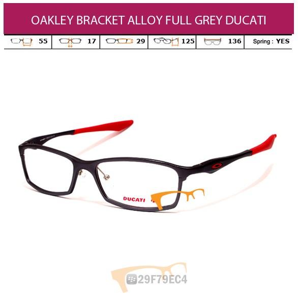 OAKLEY BRACKET ALLOY FULL GRAY DUCATI
