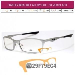 OAKLEY BRACKET ALLOY FULL SILVER BLACK