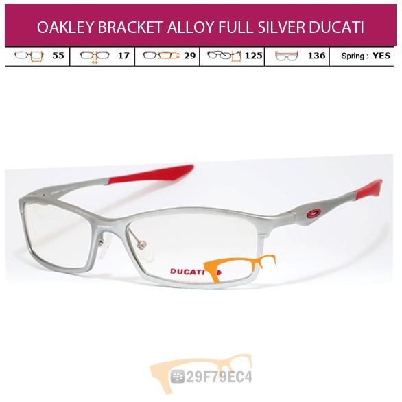 OAKLEY BRACKET ALLOY FULL SILVER DUCATI