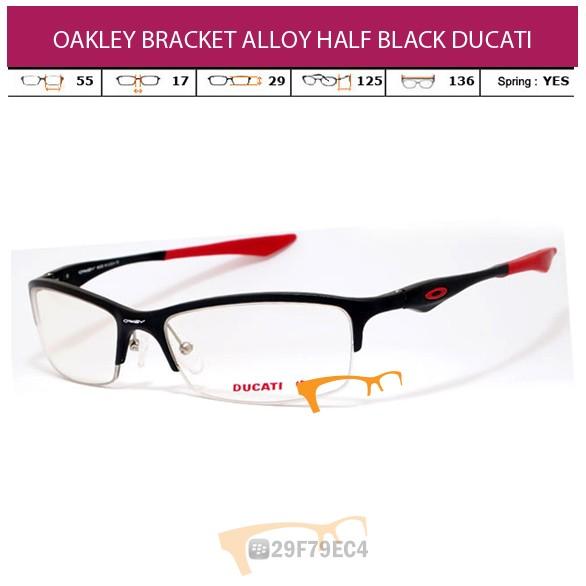 OAKLEY BRACKET ALLOY HALF BLACK DUCATI