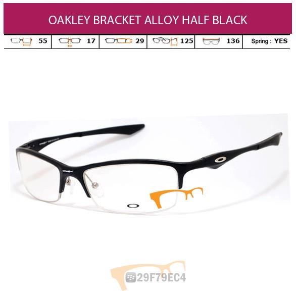 OAKLEY BRACKET ALLOY HALF BLACK