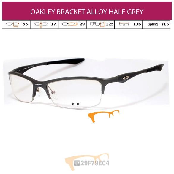 OAKLEY BRACKET ALLOY HALF GRAY