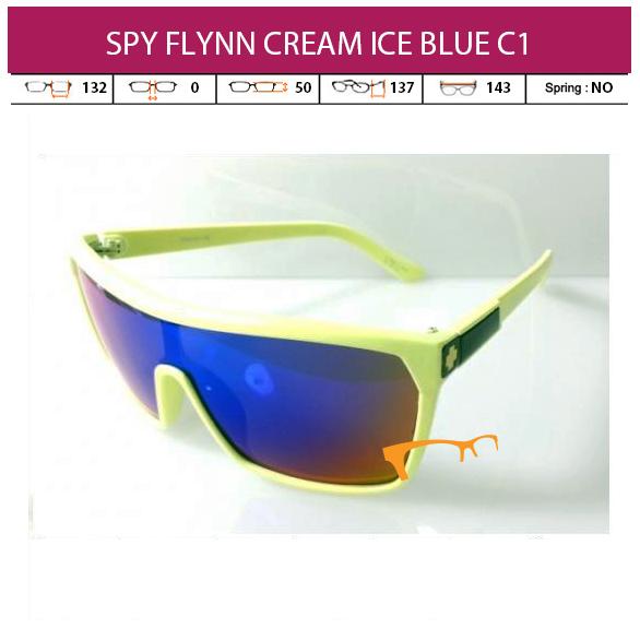 JUAL KACAMATA SPY FLYNN CREAM ICE BLUE