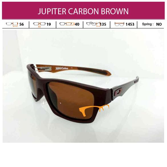 OAKLEY JUPITER CARBON BROWN
