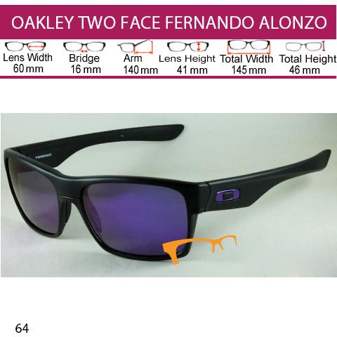 OAKLEY TWO FACE FERNANDO ALONSO