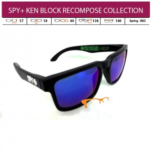 SPY+ KEN BLOCK RECOMPOSE COLLECTION (PAKET LENGKAP)