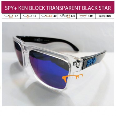 SPY+ KEN BLOCK TRANSPARENT BLACK STAR (PAKET LENGKAP)