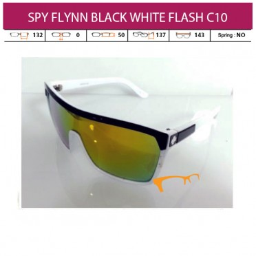 SPY FLYNN BLACK WHITE FLASH C10