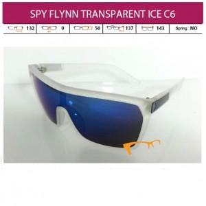 SPY FLYNN TRANSPARENT ICE C6