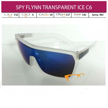 SPY FLYNN TRANSPARENT ICE C6