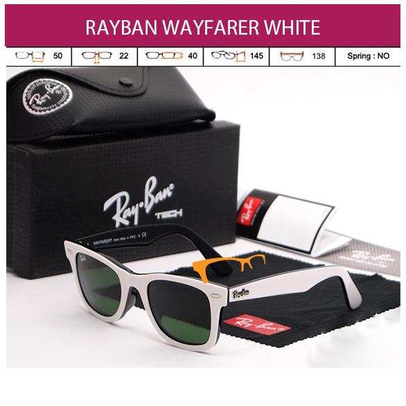 RAYBAN WAYFARER RB 2140 WHITE