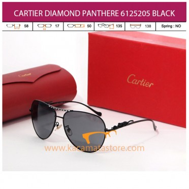 CARTIER DIAMOND PANTHERE 6125205 BLACK