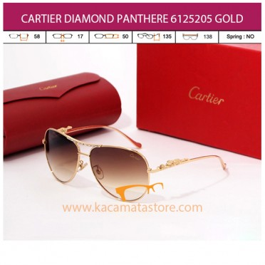 CARTIER DIAMOND PANTHERE 6125205 GOLD