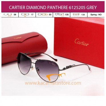 CARTIER DIAMOND PANTHERE 6125205 GREY