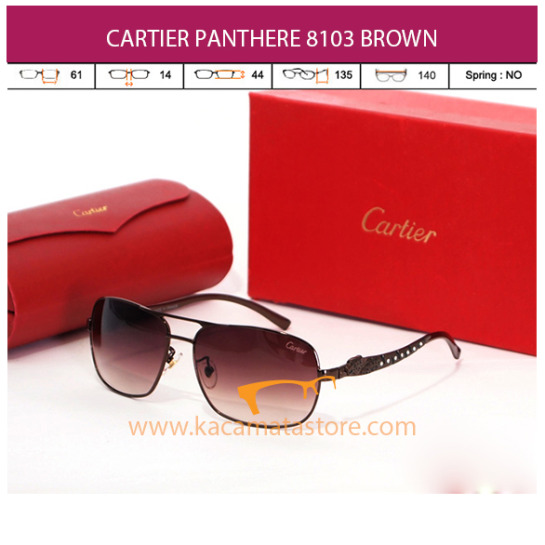 CARTIER PANTHERE 8103 BROWN
