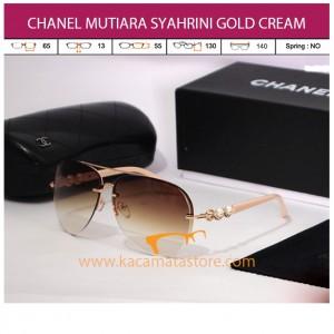 CHANEL MUTIARA SYAHRINI GOLD CREAM