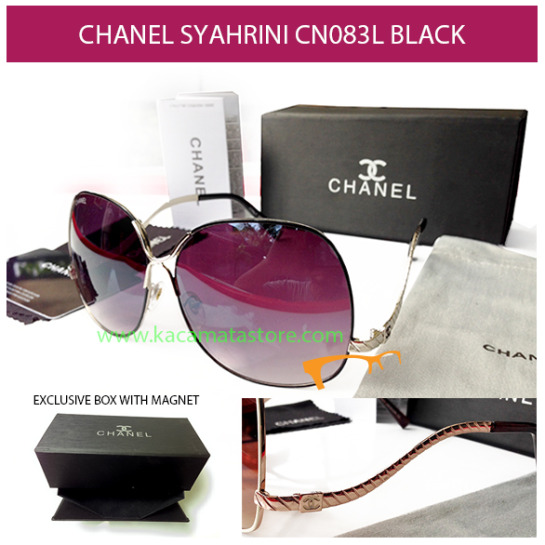 KACAMATA CHANEL SYAHRINI CN083L BLACK