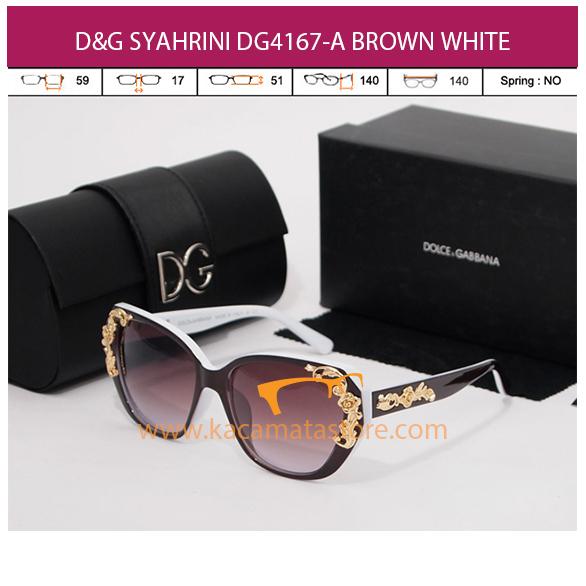 D&G SYAHRINI DG4167-A BROWN WHITE