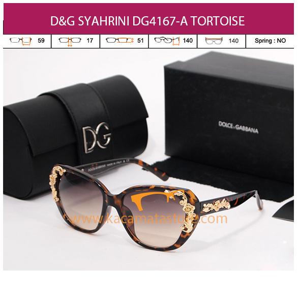 D&G SYAHRINI DG4167-A TORTOISE